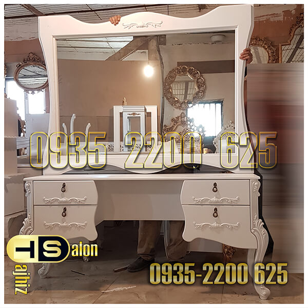 آینه و کنسول طلا