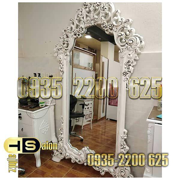 آینه قدی منبت گل